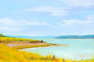 Painting - Bay Of Fundy From Eastport by Sarah Gayle Carter