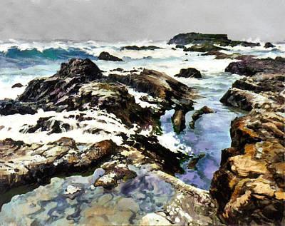 Painting - Bay Shore by Sergey Zhiboedov