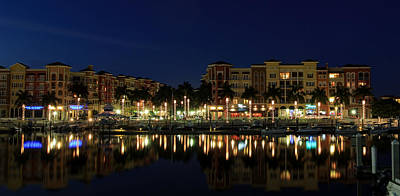 Photograph - Bayfront In Naples by Sean Allen