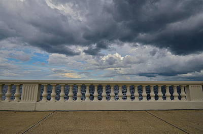 Bayshore Balustrade 4 Art Print by William  Carson Jr