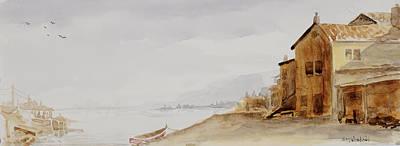 Painting - Bayside Village by Richard Mordecki