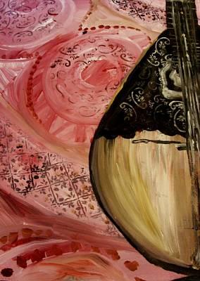 Painting - Bazouki by Amanda Dinan
