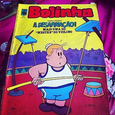 Comics Wall Art - Photograph - #bd #bd #comics #oldcomics #brasil #old by Francisca Andrade