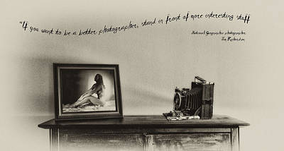 Be A Better Photographer Art Print by Bill Cannon