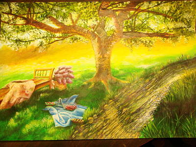 Be As A Tree Planted By The Waters Original by Cecilia Putter