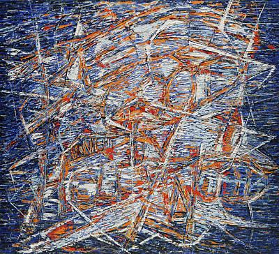 Painting - Be Good In Hollywood by Hermann Lederle