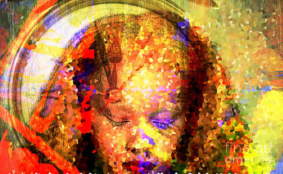 Central America Mixed Media - Be In Time by Fania Simon