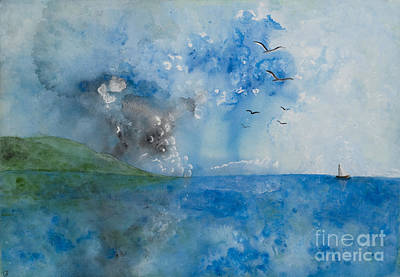 Be Still And Know Art Print by Barbara McNeil