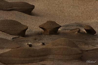 Burland Photograph - Beach Art C by Burland McCormick