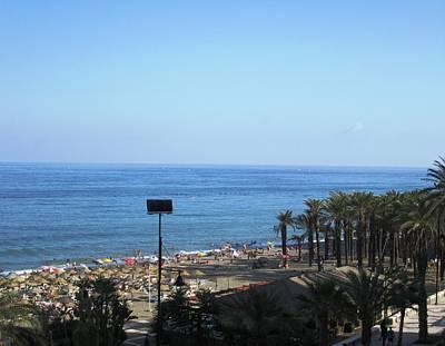 Photograph - Beach At Costa Del Sol Spain by John Shiron