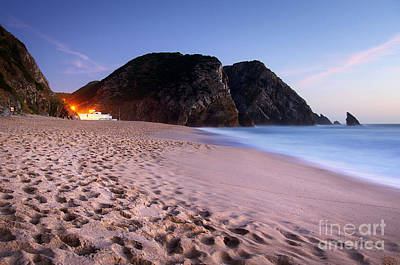 Unreal Photograph - Beach At Evening by Carlos Caetano