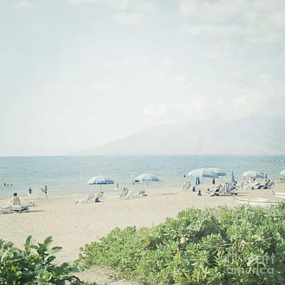 Photograph - Beach At Wailea  by Sharon Mau