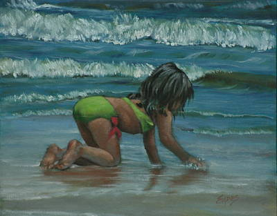 Painting - Beach Beauty by Linda Eades Blackburn