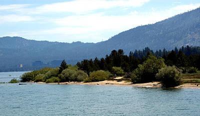 Boat Photograph - Beach Biking Lake Tahoe by LeeAnn McLaneGoetz McLaneGoetzStudioLLCcom
