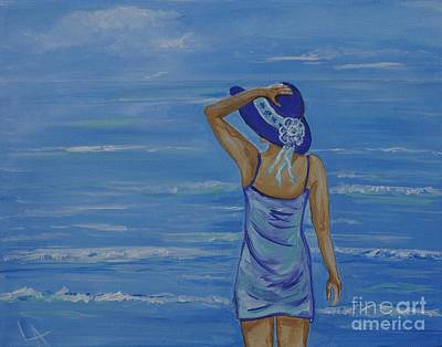 Painting - Beach Bliss by Leslie Allen