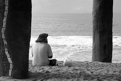 Photograph - Beach Bum by Lorraine Devon Wilke