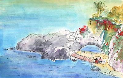 Painting - Beach By Agios Nicolaos by Miki De Goodaboom