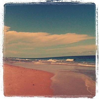 Surrealism Wall Art - Photograph - Beach Days. :) #beach #day #love #sky by Emily W