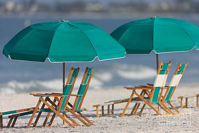 Photograph - Beach Furniture I by Clarence Holmes