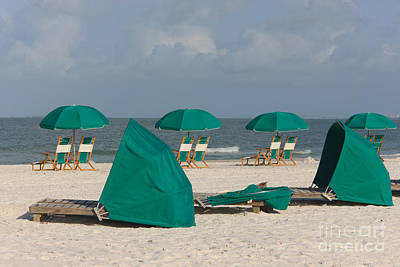 Photograph - Beach Furniture II by Clarence Holmes