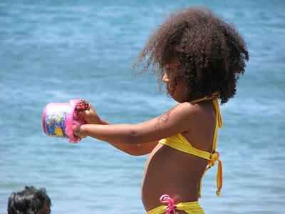 Photograph - Beach Games by Gal Moran