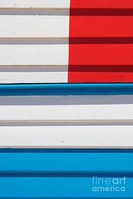 Beach House - Tricolore II Art Print by Hideaki Sakurai