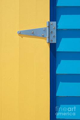 Yellow Door Photograph - Beach House - Yellow Door II by Hideaki Sakurai