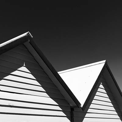 Photograph - Beach Huts by Dave Bowman