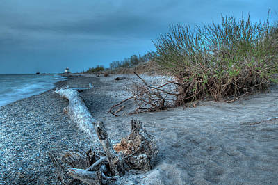 Headlands Photograph - Beach In Blue by At Lands End Photography