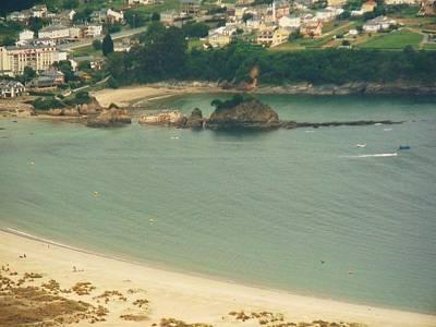 Beach In Galicia Art Print by Jenny Senra Pampin