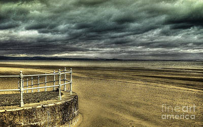 Photograph - Beach Of Leight Edinburgh by Elena Mussi