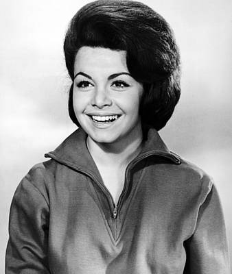 1963 Movies Photograph - Beach Party, Annette Funicello, 1963 by Everett