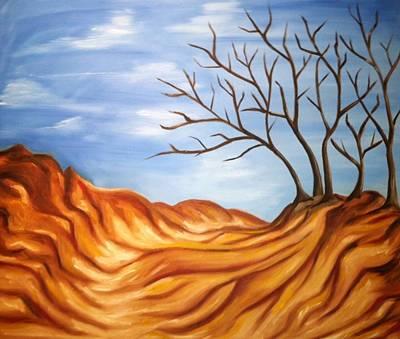Painting - Beach Path by Stephanie Reid
