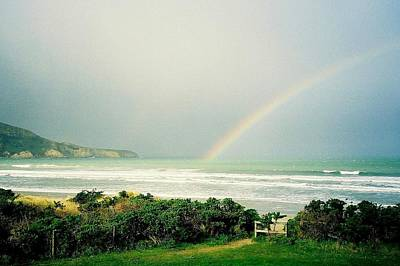 Photograph - Beach Rainbow by Peter Mooyman