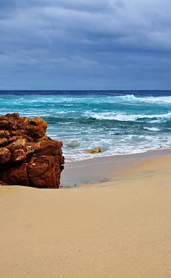 Beach Rocks Original by Phill Petrovic