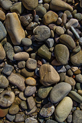 Photograph - Beach Rocks by Roger Mullenhour
