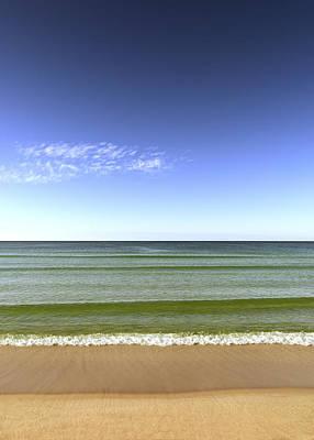 Photograph - Beach Scene by Al Hurley