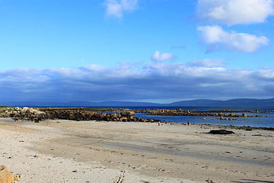 Spiddal Photograph - Beach Scene by Michael O Connell