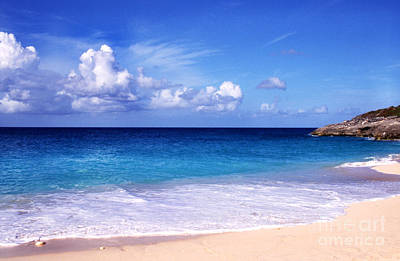 Sint Maarten Photograph - Beach Serenity by Thomas R Fletcher