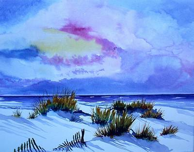 Painting - Beach Shadows II by Richard Willows