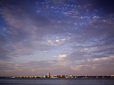 Photograph - Beach Skyline by Al Hurley