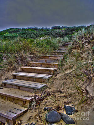 Photograph - Beach Stairs by Joanne Kocwin