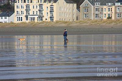 Photograph - Beach Stroll by Ed Lukas