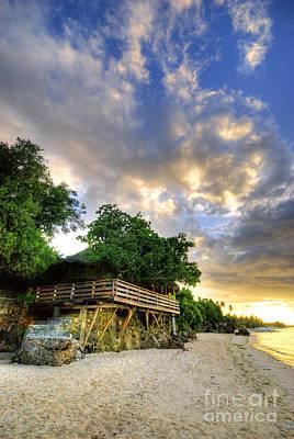 Photograph - Beach Sunrise by Yhun Suarez