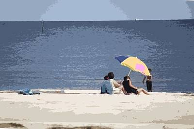 Photograph - Beach Time by Donna G Smith