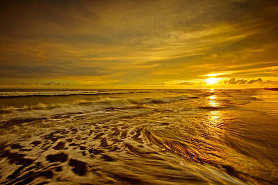 Y120831 Photograph - Beach With Sunset by Sunrise@dawn Photography