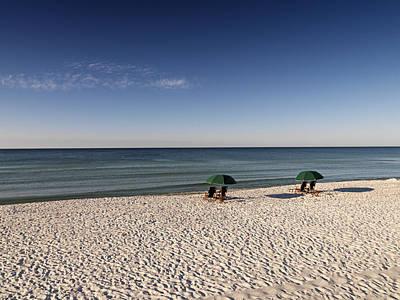 Photograph - Beachchairs by Al Hurley