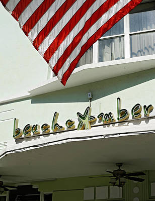 Photograph - Beachcomber Hotel. Miami. Fl. Usa by Juan Carlos Ferro Duque