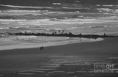 Photograph - Beachcombers by Erica Hanel