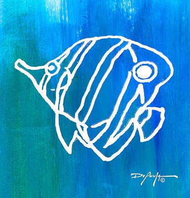 Beachside Reef Fish Art Print by William Depaula
